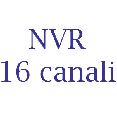 NVR Hikvision 16 canali