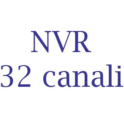 NVR Hikvision 32 canali