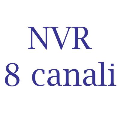 NVR Hikvision 8 canali