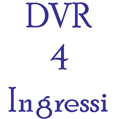 DVR Hikvision 4 ingressi