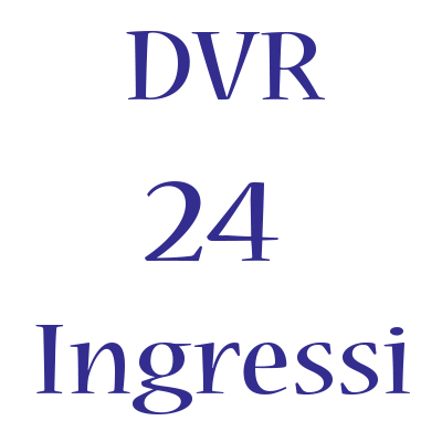 DVR Hikvision 24 ingressi