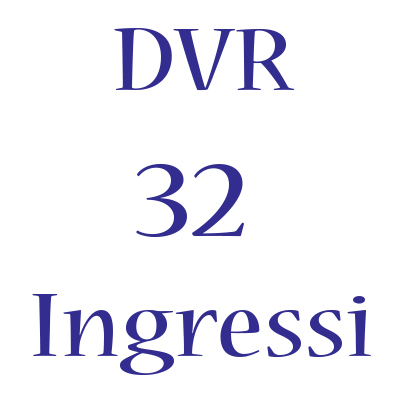 DVR Hikvision 32 Ingressi